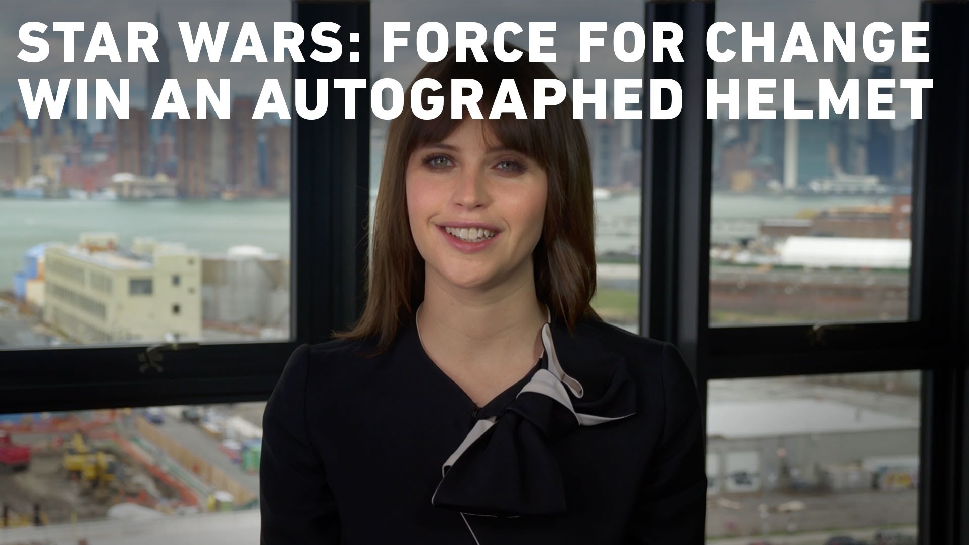 Star Wars: Force For Change – Your Chance to Win an Autographed Rogue One Stormtrooper Helmet