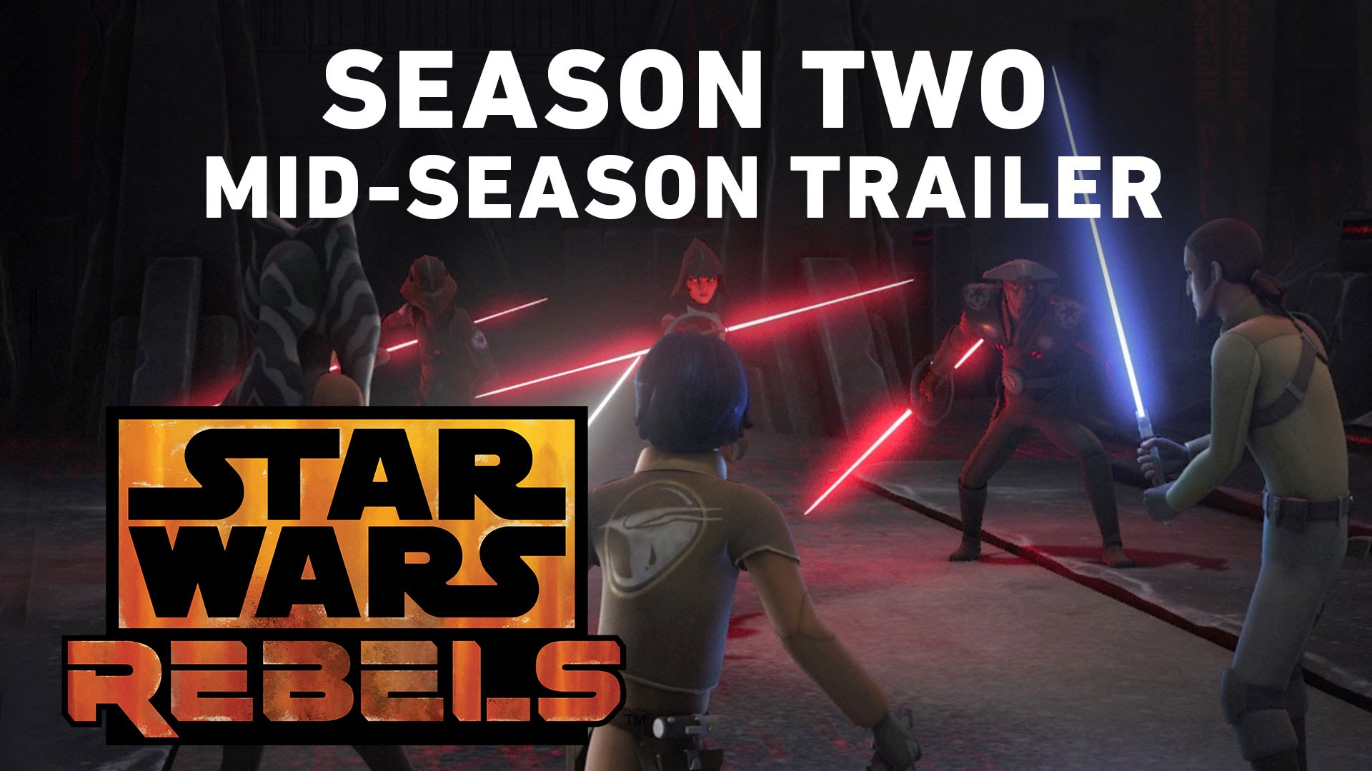 Star Wars Rebels Season Two – Mid-Season Trailer (Official)