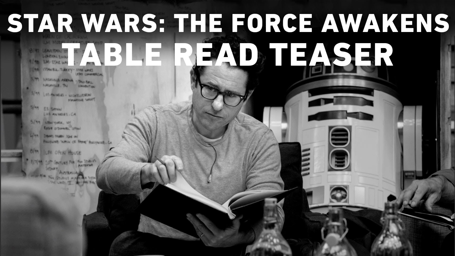 Star Wars: The Force Awakens Table Read Teaser