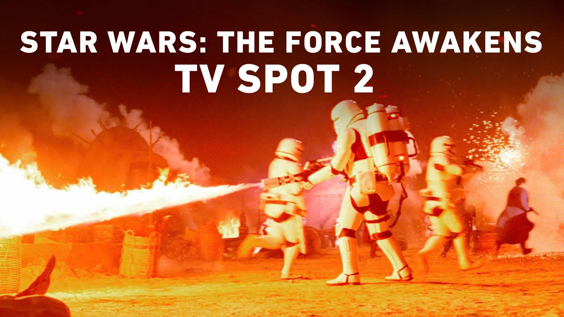 Star Wars: The Force Awakens TV Spot 2 (Official)