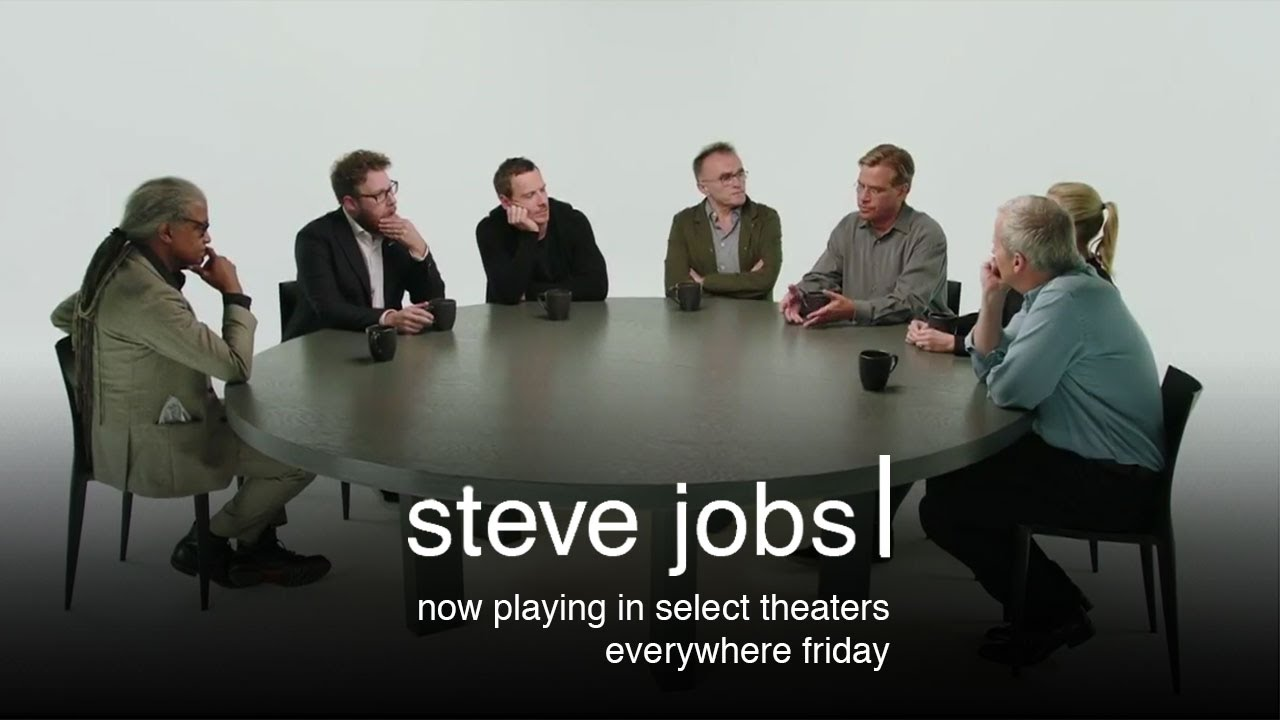 Steve Jobs – Cast & Filmmaker Roundtable Discussion (HD)