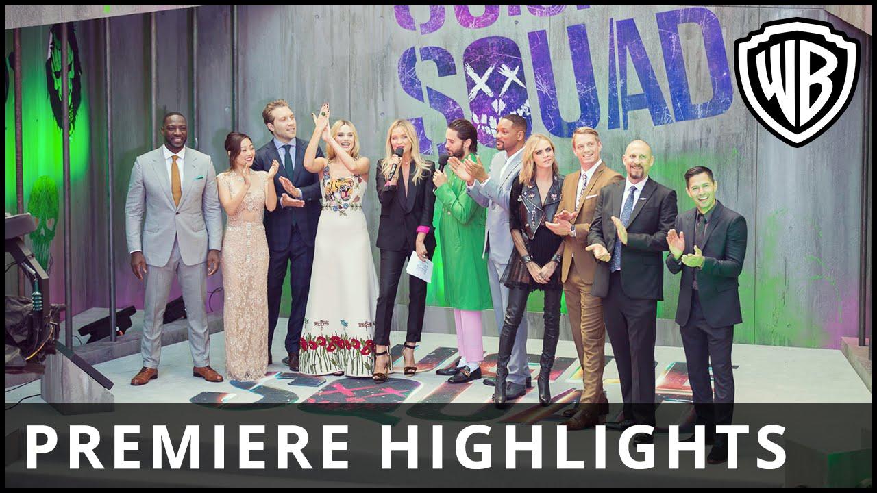 Suicide Squad – European Premiere Highlights – Official Warner Bros. UK