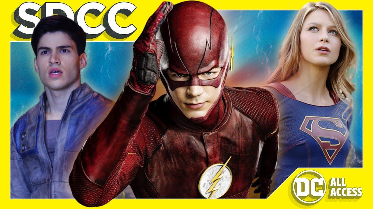 Supergirl, The Flash & More TV News + Justice League Cast Unites