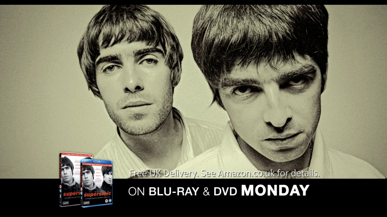 SUPERSONIC – On Blu-ray, DVD & Digital Download