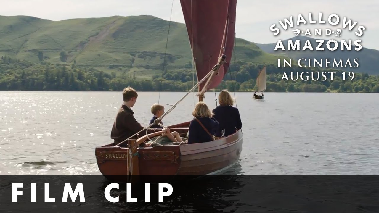 Swallows & Amazons – Swallows Chase Amazons – In Cinemas August 19th