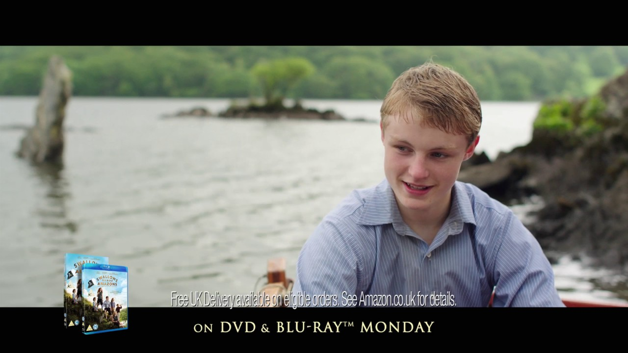 Swallows and Amazons TV Spot – Sailing onto DVD & Blu-ray on Monday.