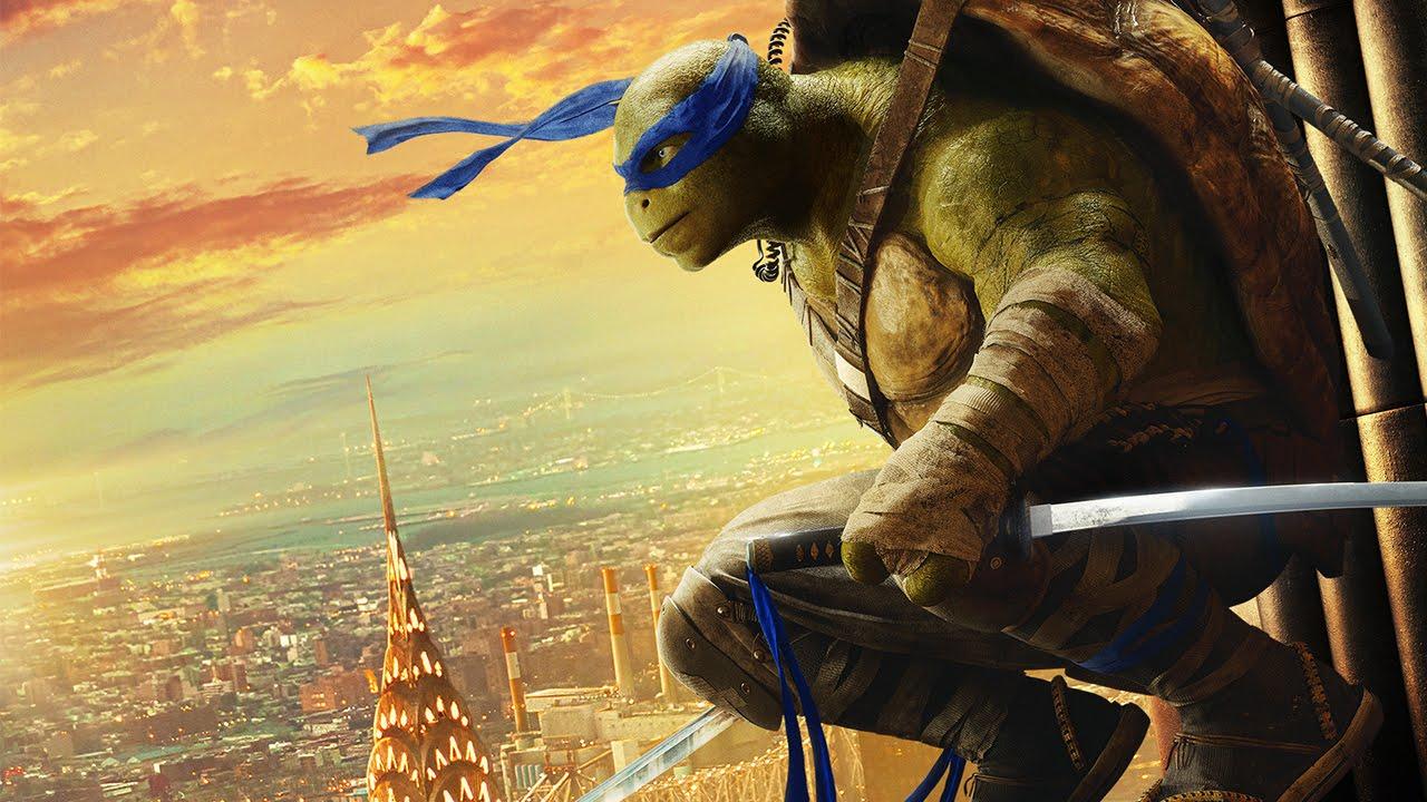 Teenage Mutant Ninja Turtles: Out of the Shadows   Leonardo Cinemagraph   Paramount Pictures UK