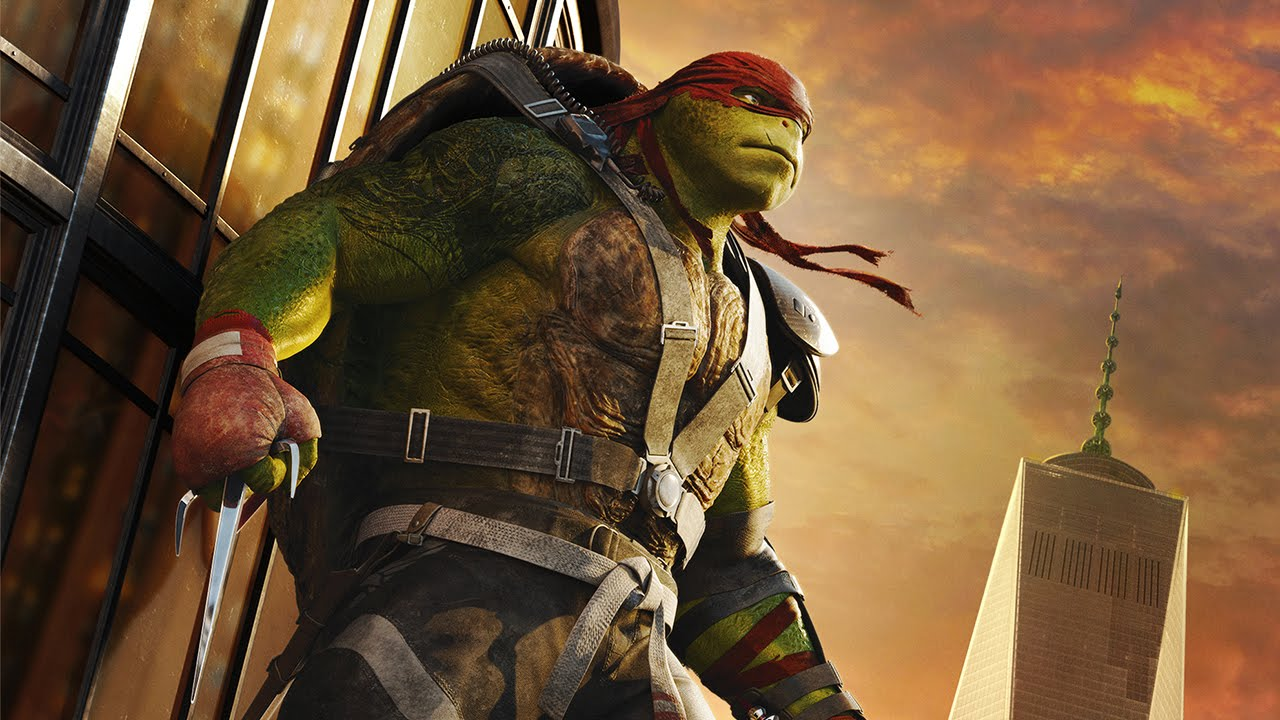 Teenage Mutant Ninja Turtles: Out of the Shadows | Raphael Cinemagraph | Paramount Pictures UK