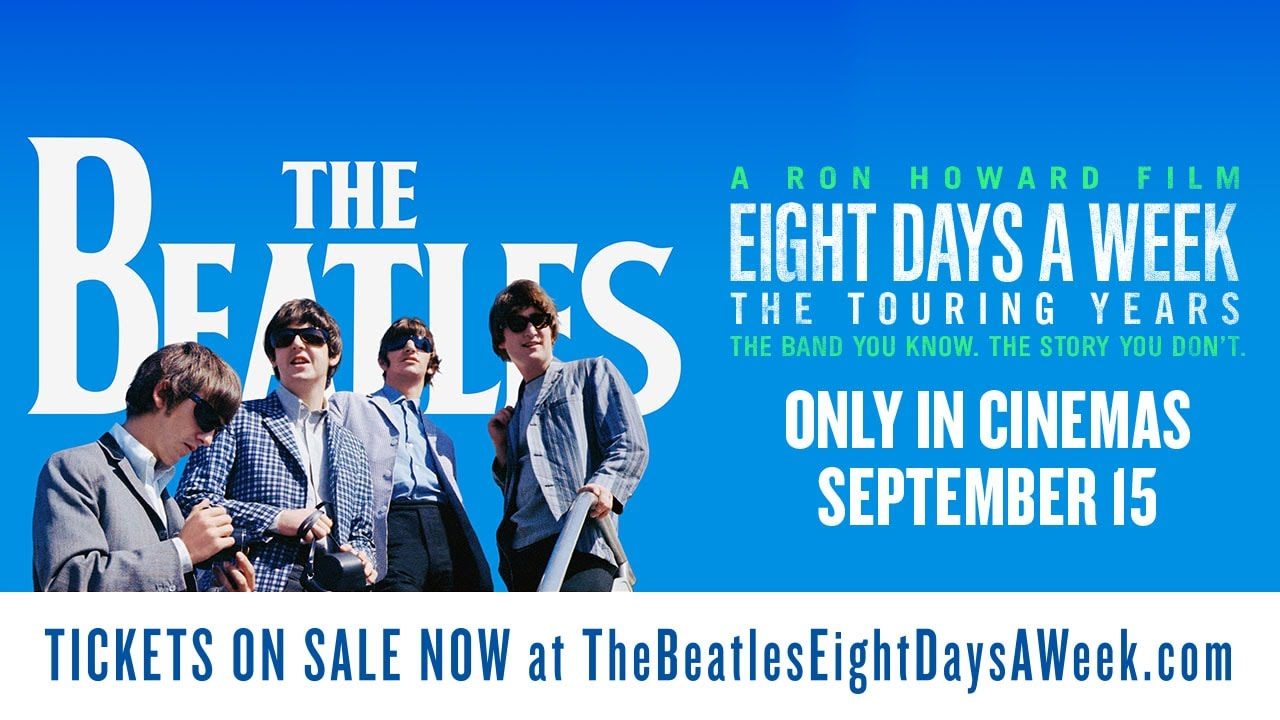 The Beatles: Eight Days A Week – The Touring Years. Official Shea Spot