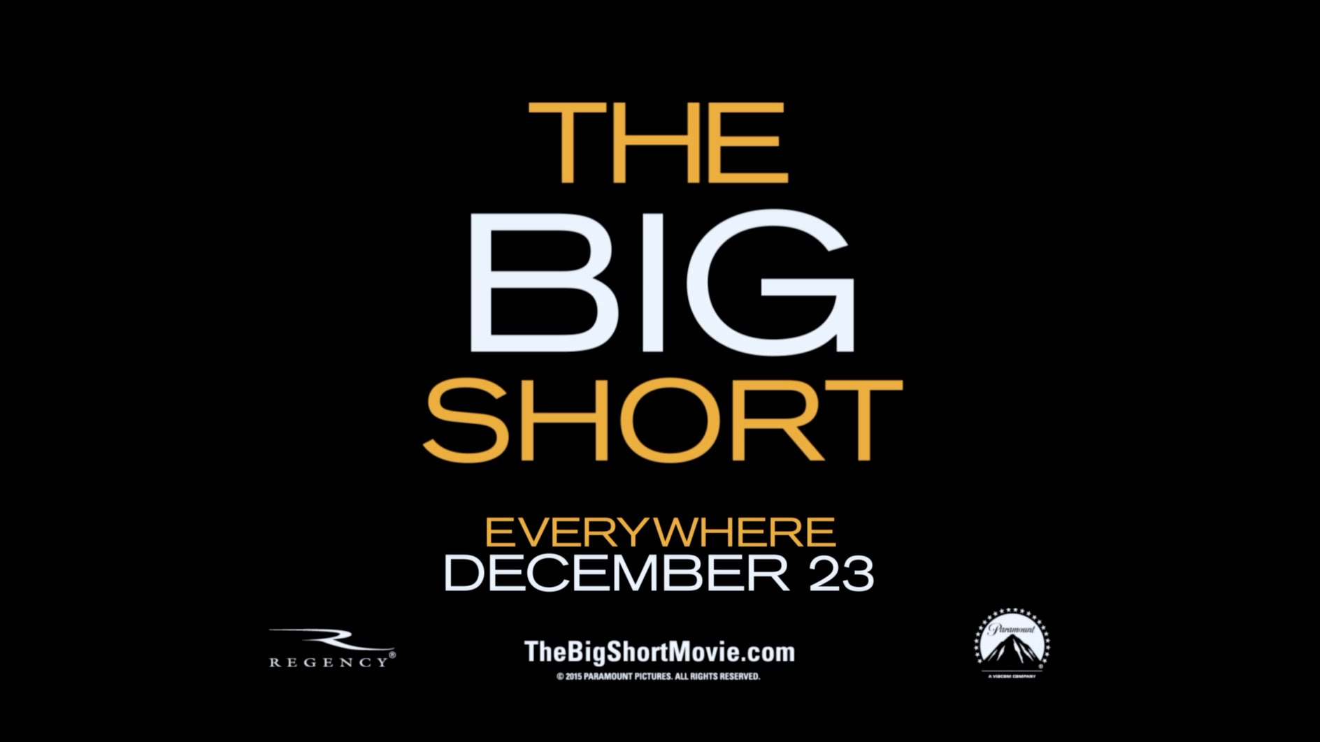"The Big Short – ""Perfect Review"" TV Spot (2015) – Paramount Pictures"