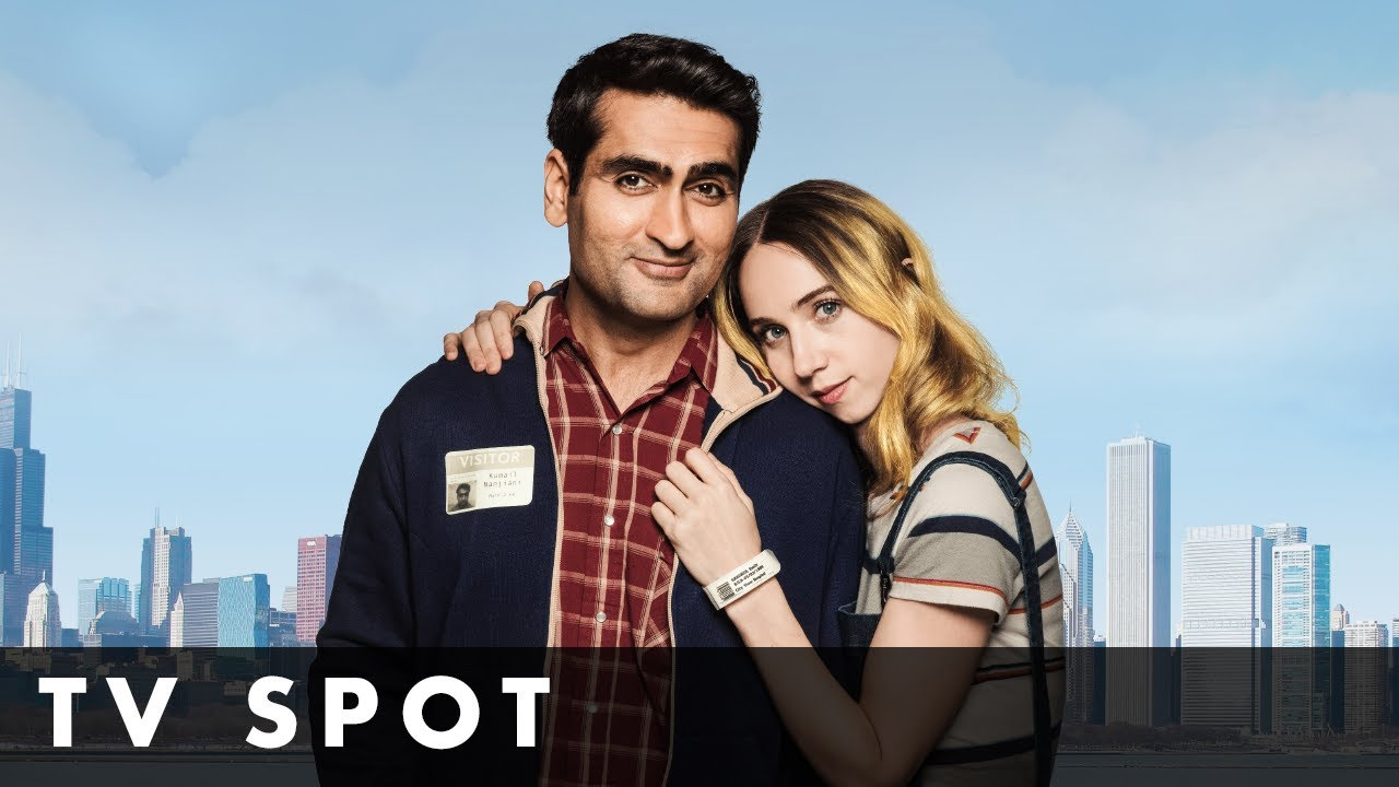 THE BIG SICK – TV Spot – Starring Kumail Nanjiani and Zoe Kazan