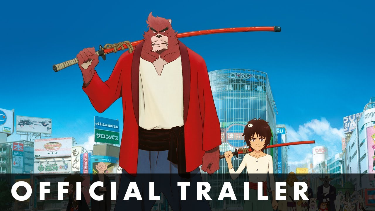 THE BOY AND THE BEAST – Official UK Trailer – In cinemas July 10th
