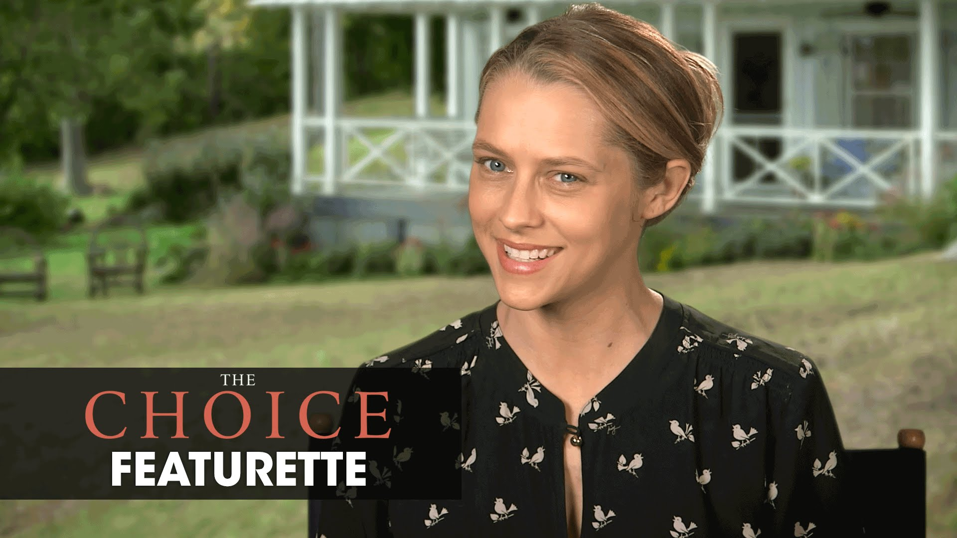 "The Choice (2016 Movie – Nicholas Sparks) Official Featurette – ""Insights With Teresa Palmer"""