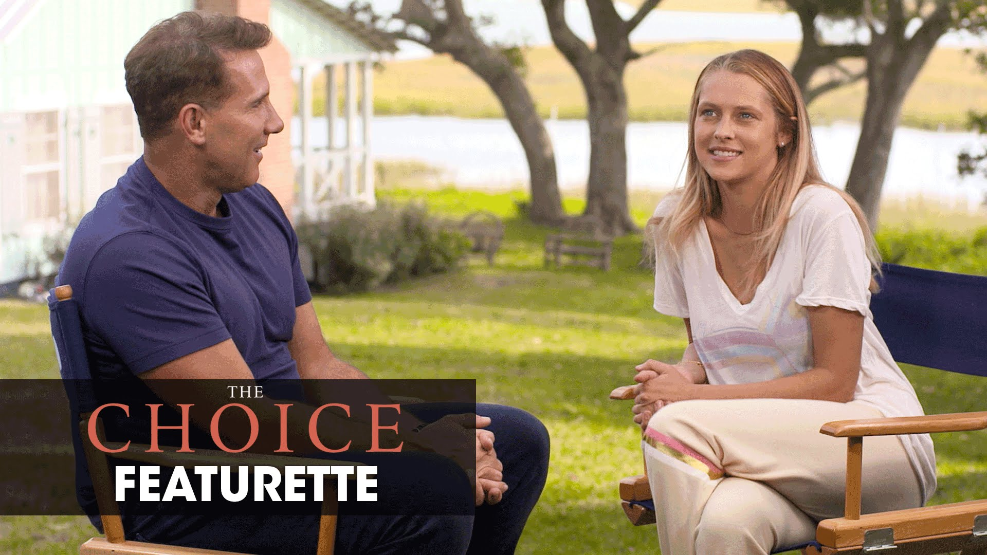 "The Choice (2016 Movie – Nicholas Sparks) Official Featurette – ""A Moment With Sparks"""