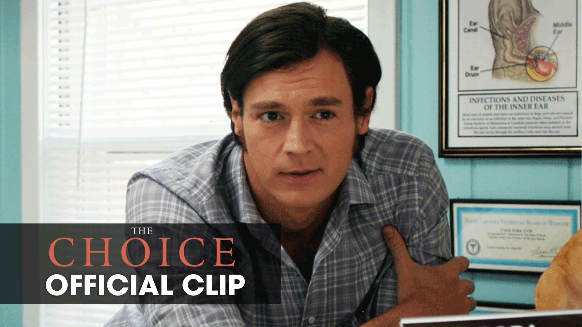 """The Choice (2016 Movie – Nicholas Sparks) Official Clip – """"Crushing On You"""""""