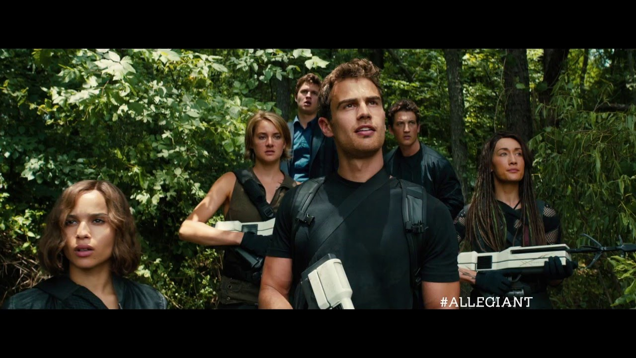 THE DIVERGENT SERIES: ALLEGIANT – OFFICIAL 'GO BEYOND' TV SPOT