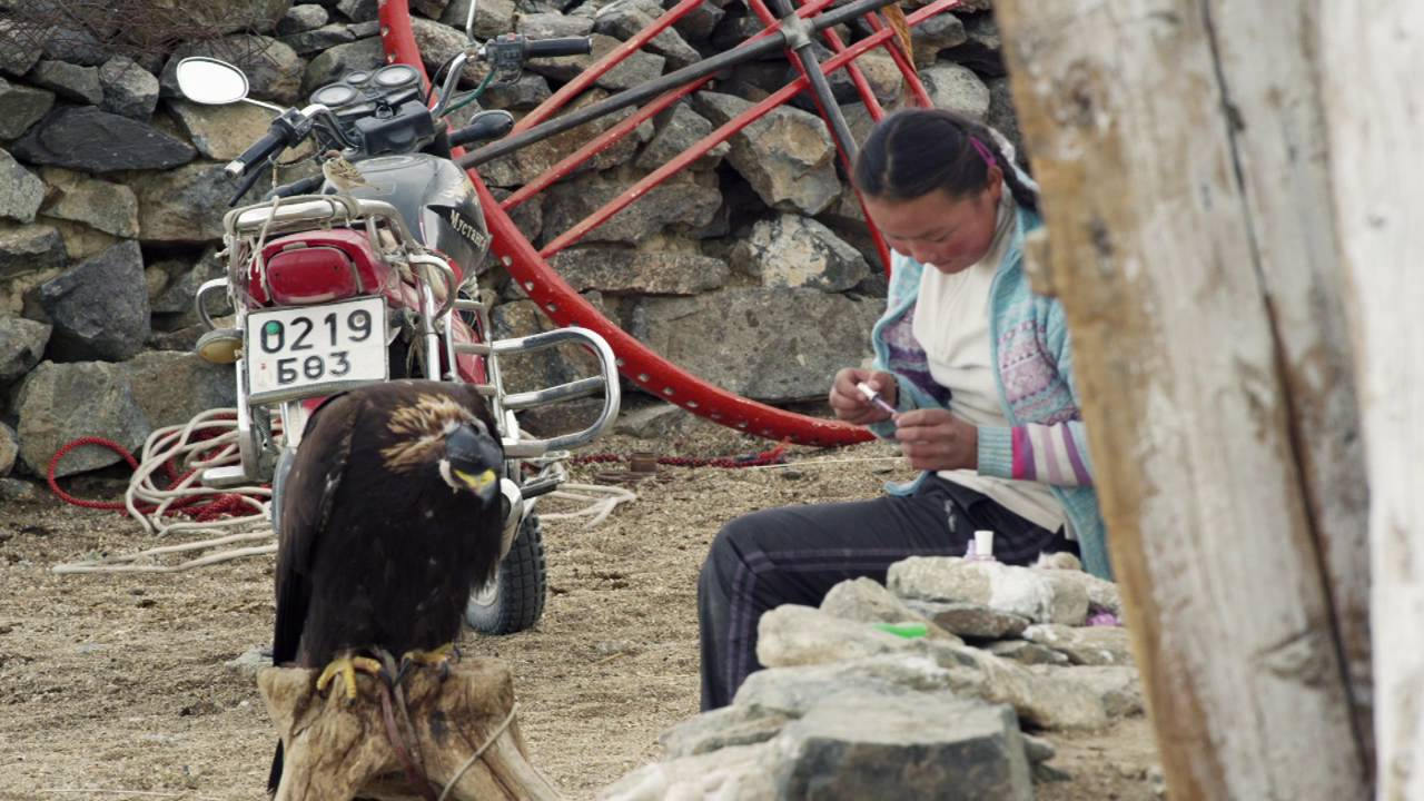 THE EAGLE HUNTRESS – Clip #1 – Just Me
