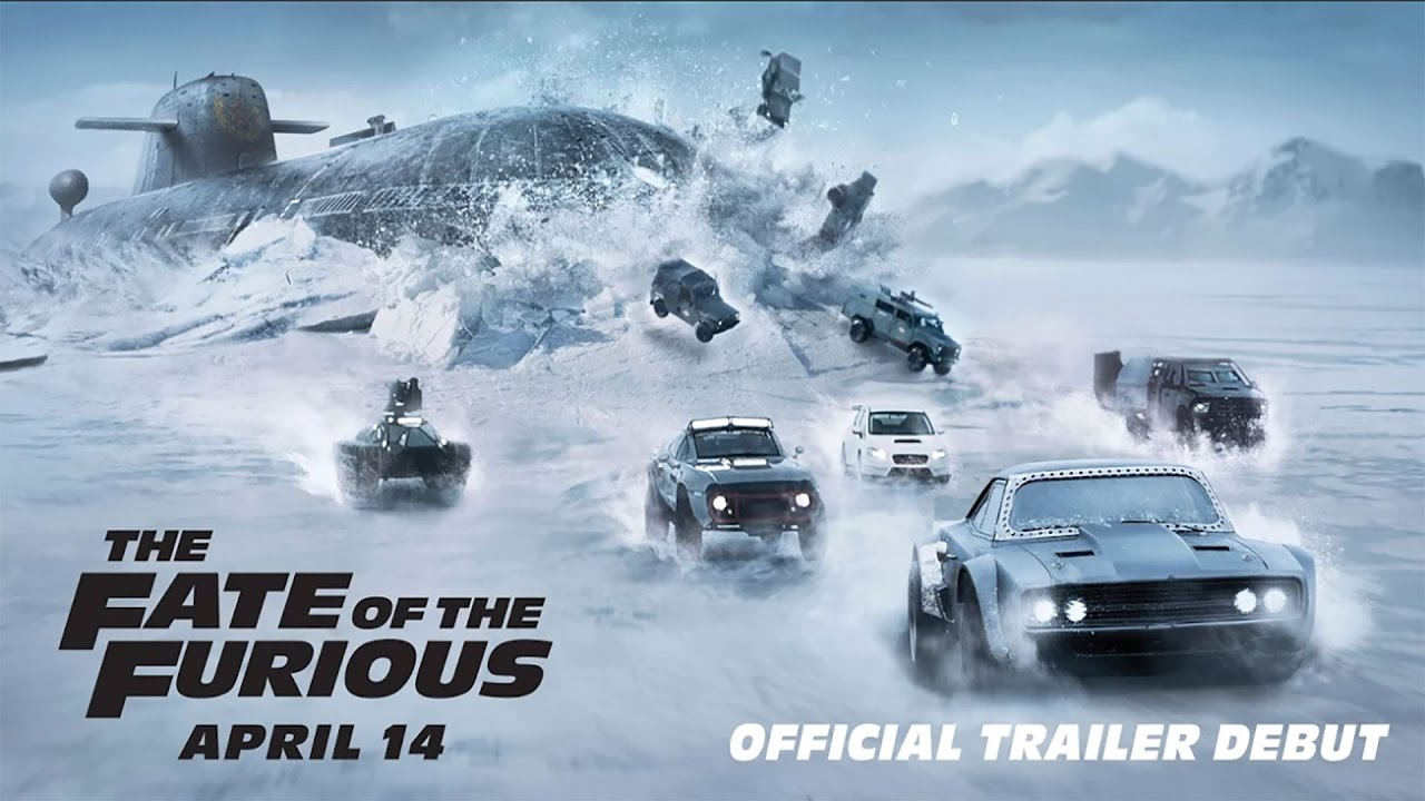 the fate of the furious in theaters april 14 official trailer 2 hd phase9 entertainment. Black Bedroom Furniture Sets. Home Design Ideas