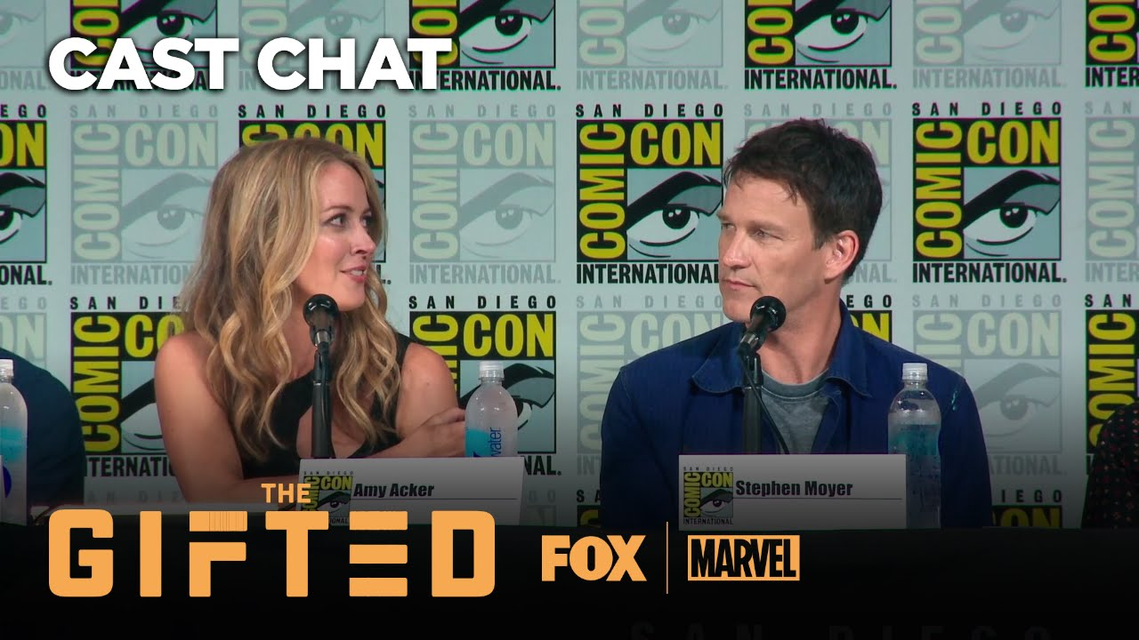 THE GIFTED Panel At Comic-Con 2017