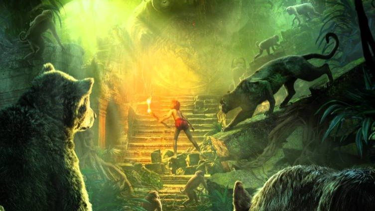 The Jungle Book Living Poster