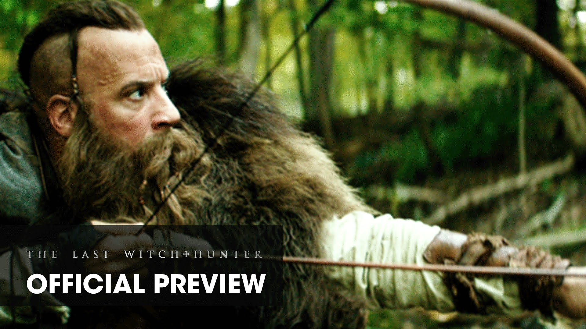 "The Last Witch Hunter (2015 Movie – Vin Diesel) Preview Featuring ""Paint It, Black"" by Ciara"