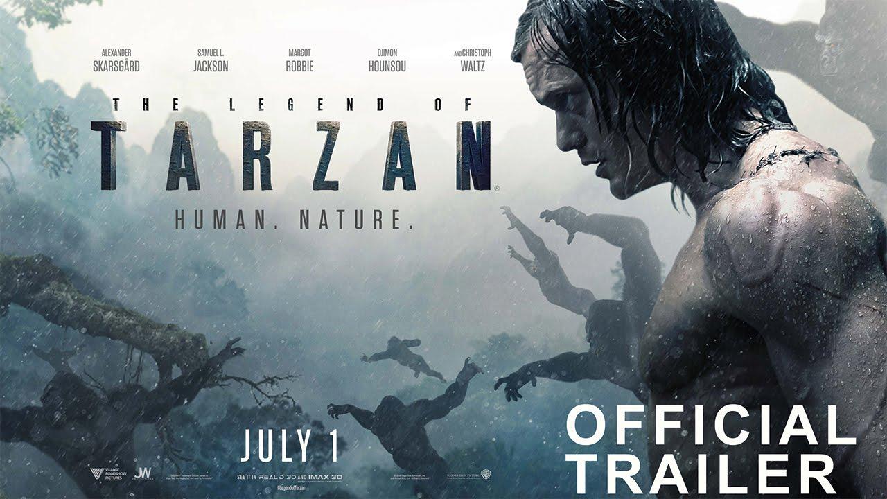 THE LEGEND OF TARZAN – Official Trailer 2