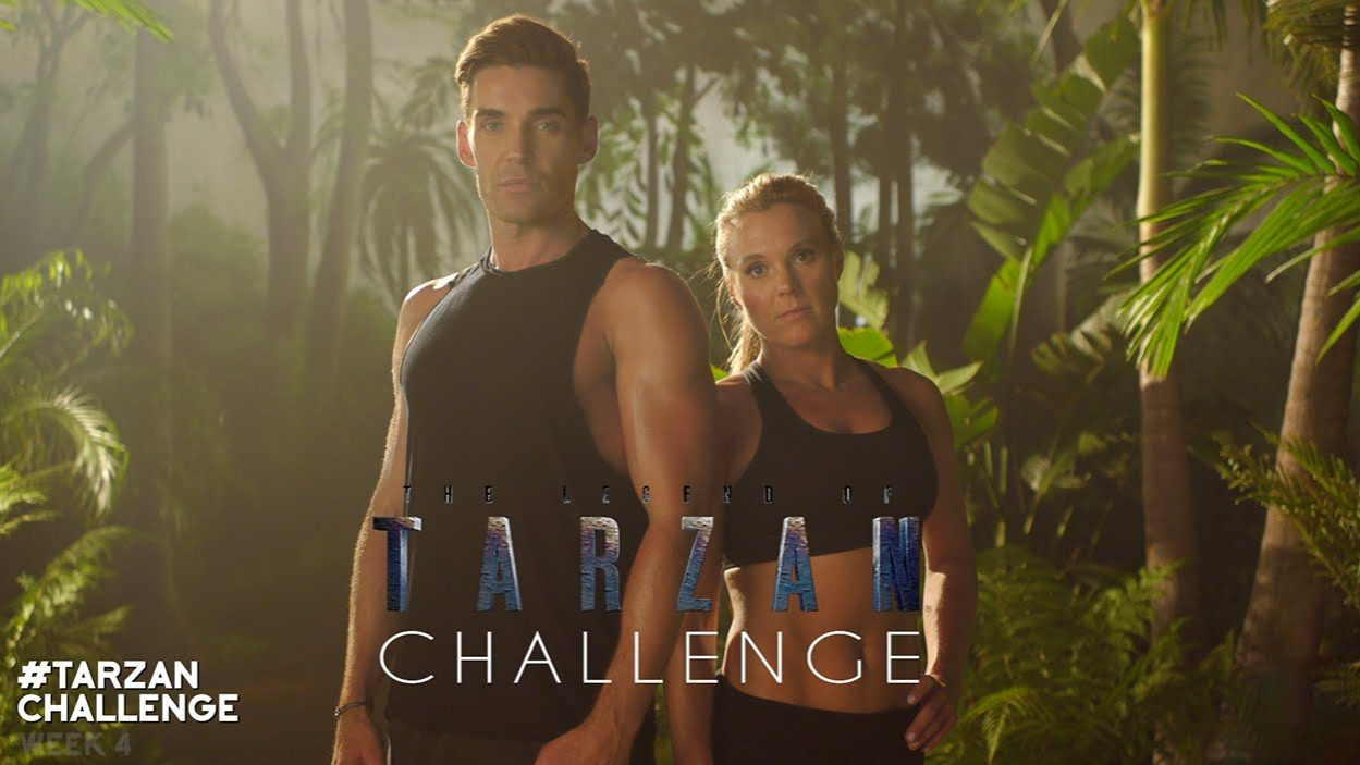 The Legend of Tarzan – #TarzanChallenge Week 4 (Lower Body)