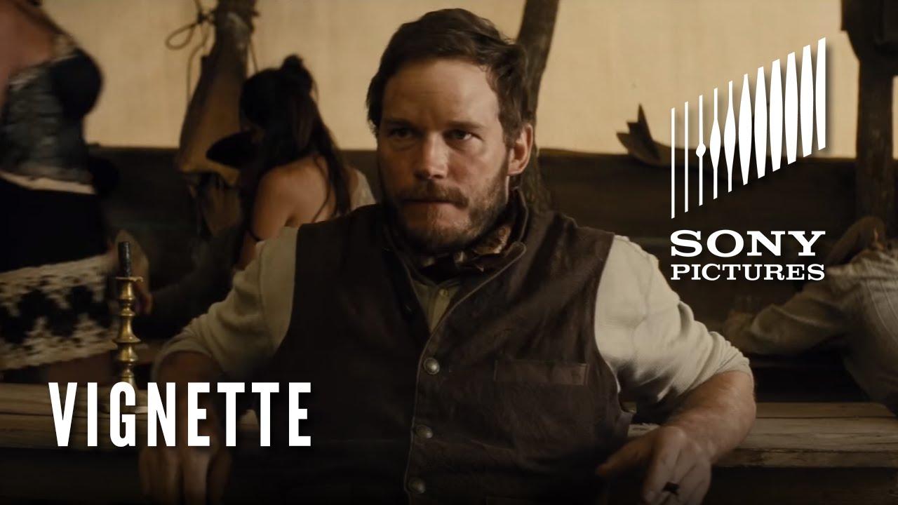THE MAGNIFICENT SEVEN Character Vignette – The Gambler (Chris Pratt)