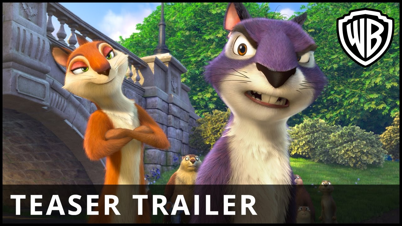 The Nut Job 2: Nutty By Nature – Teaser Trailer – Warner Bros. UK