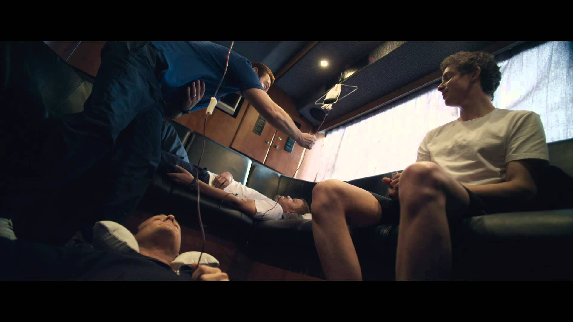 The Program clip #1 – doping on the bus – in cinemas now