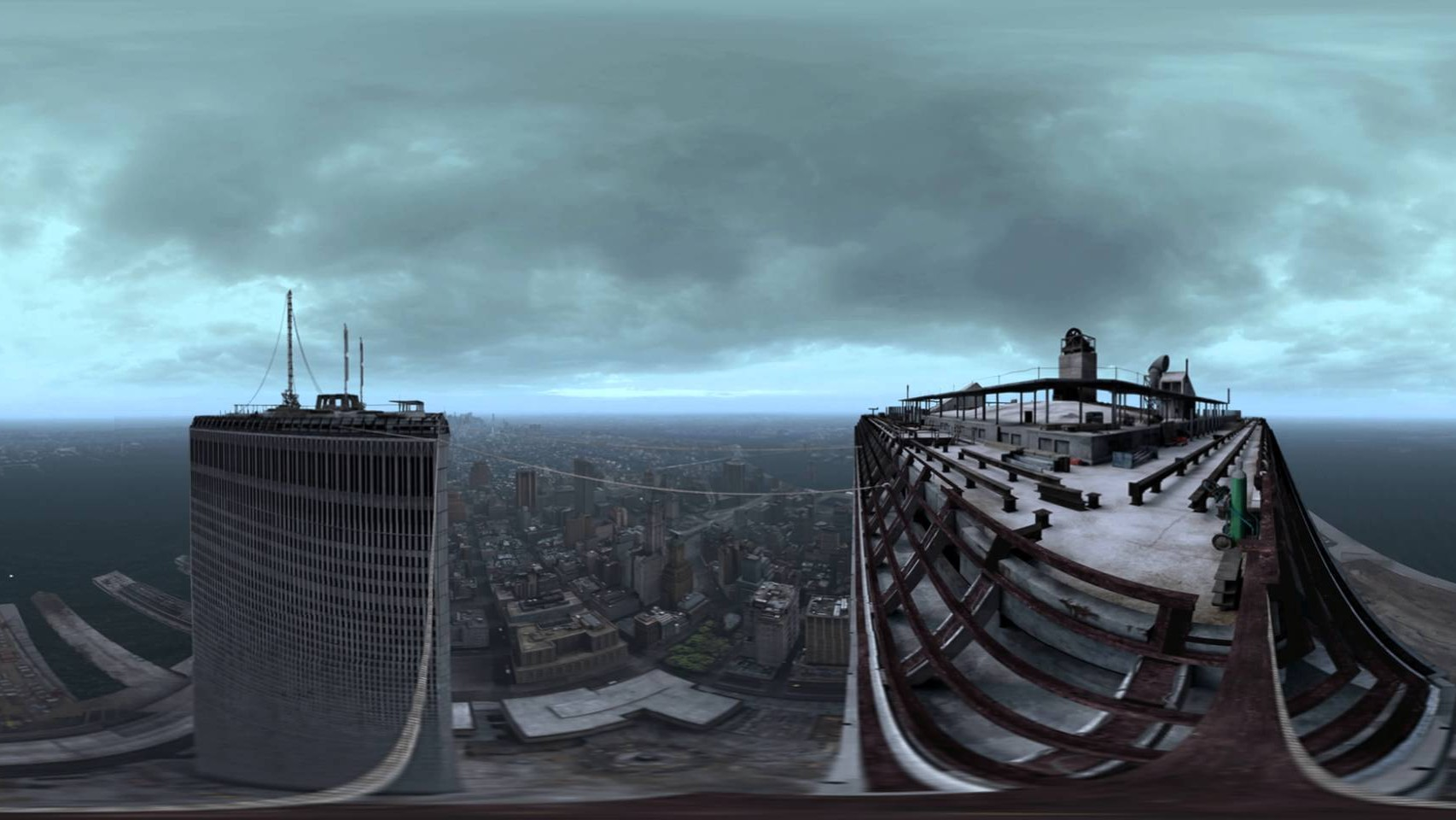 The Walk – A 360 View on Top of the Twin Towers