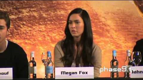 Transformers: Revenge Of The Fallen – London Press Conference (Part 4 of 6)