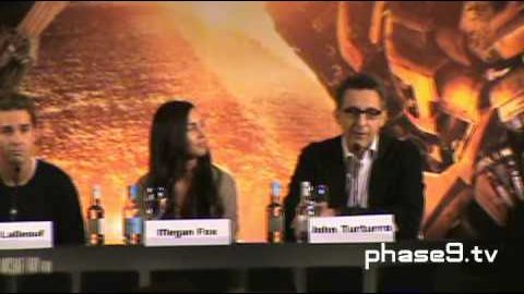 Transformers: Revenge Of The Fallen – London Press Conference (Part 3 of 6)