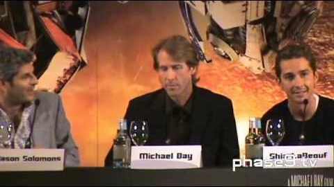 Transformers: Revenge Of The Fallen – London Press Conference (Part 2 of 6)