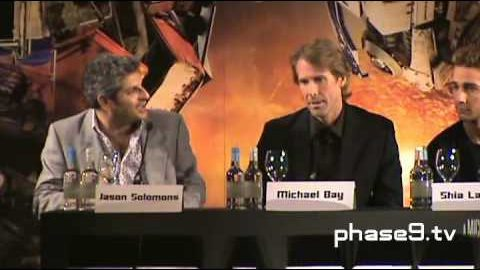 Transformers: Revenge Of The Fallen – London Press Conference (Part 1 of 6)