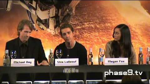 Transformers: Revenge Of The Fallen – London Press Conference (Part 6 of 6)