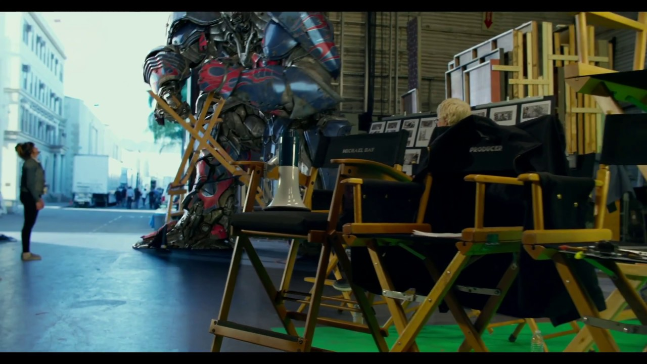 Transformers: The Last Knight | On Set With Optimus | Paramount Pictures UK