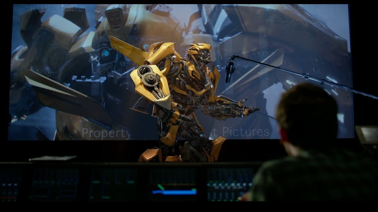 Transformers: The Last Knight | VO Booth With Bumblebee | Paramount Pictures UK