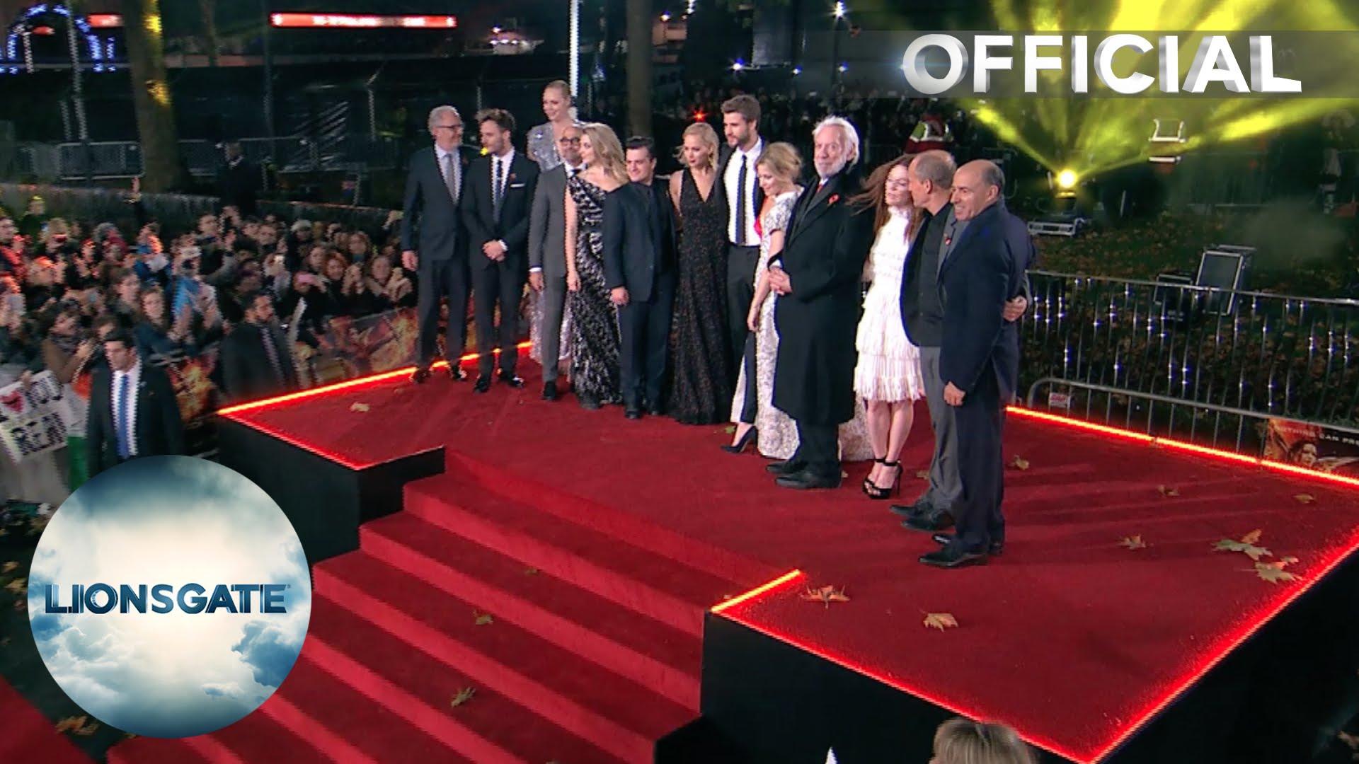 UK PREMIERE – The Hunger Games: Mockingjay Part 2