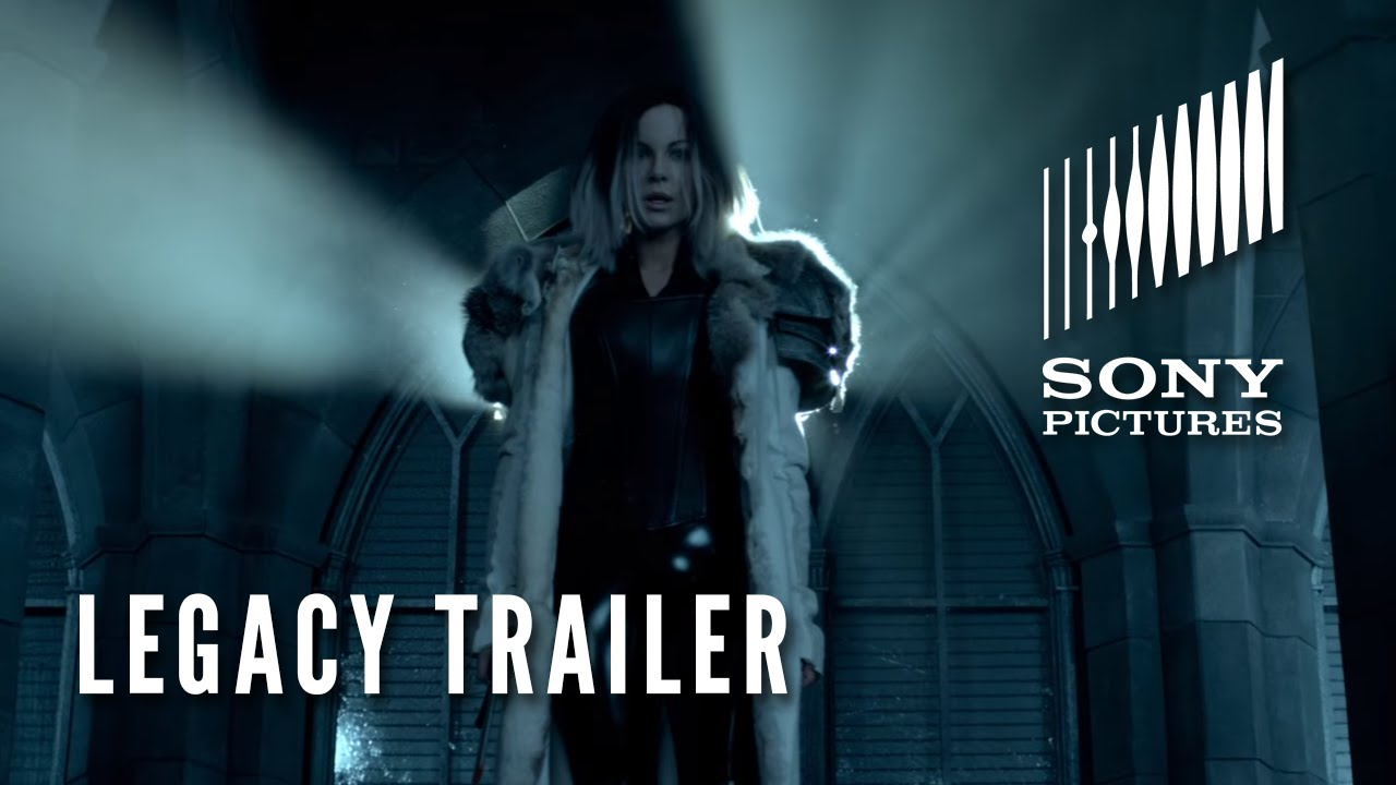 "UNDERWORLD: BLOOD WARS – Official ""Legacy"" Trailer"