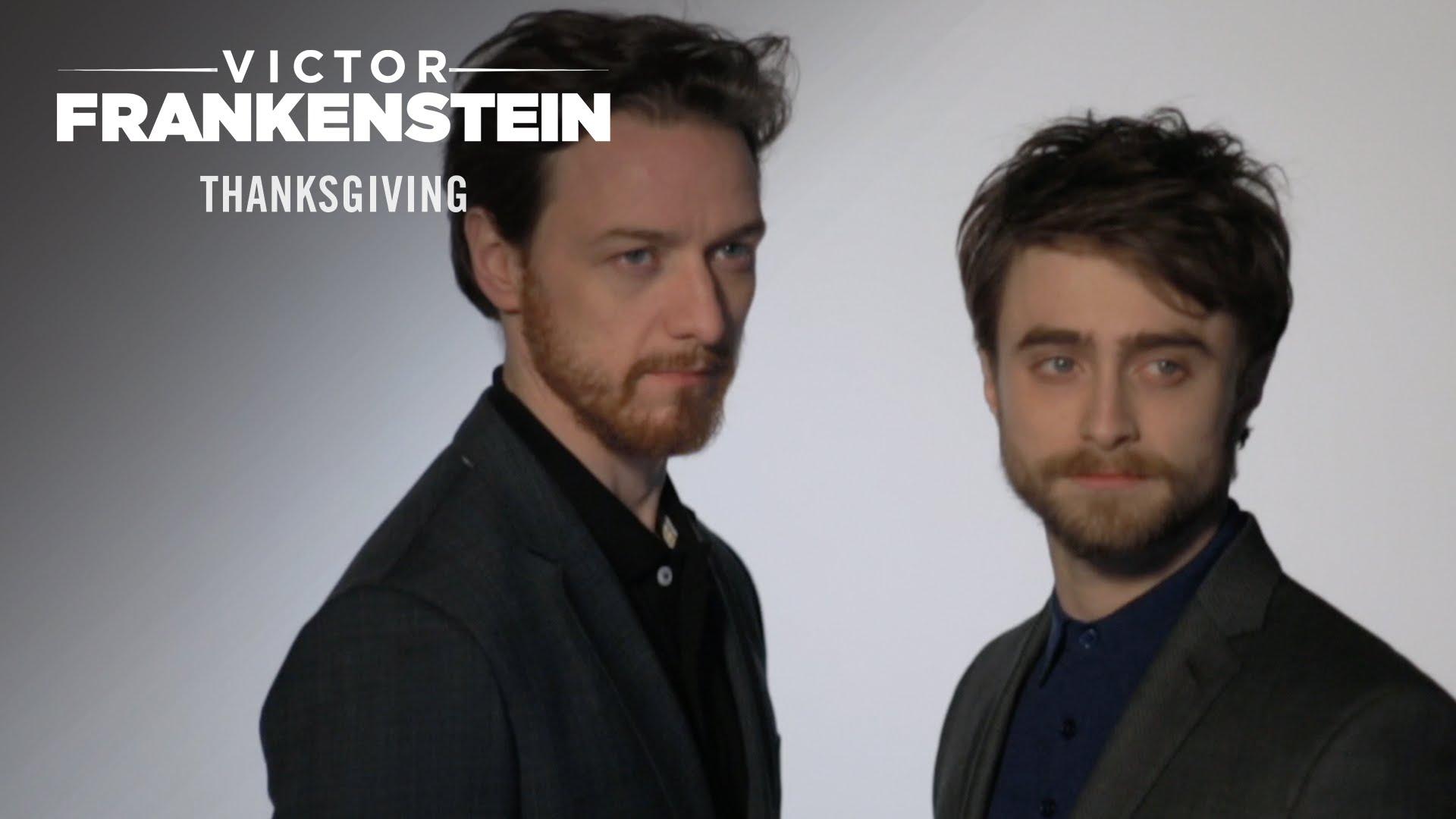 Victor Frankenstein   James McAvoy Full Q&A [HD]   20th Century FOX