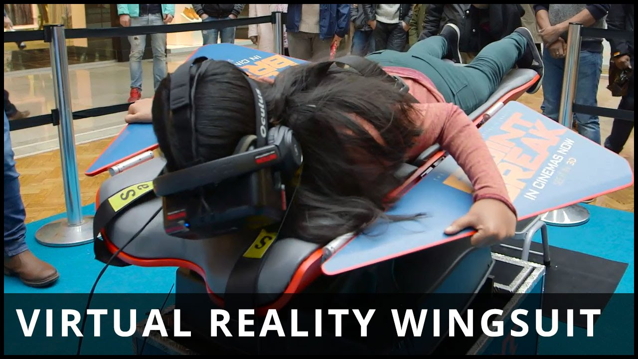 Virtual Reality Wingsuit Experience brought to you by Point Break – Highlights