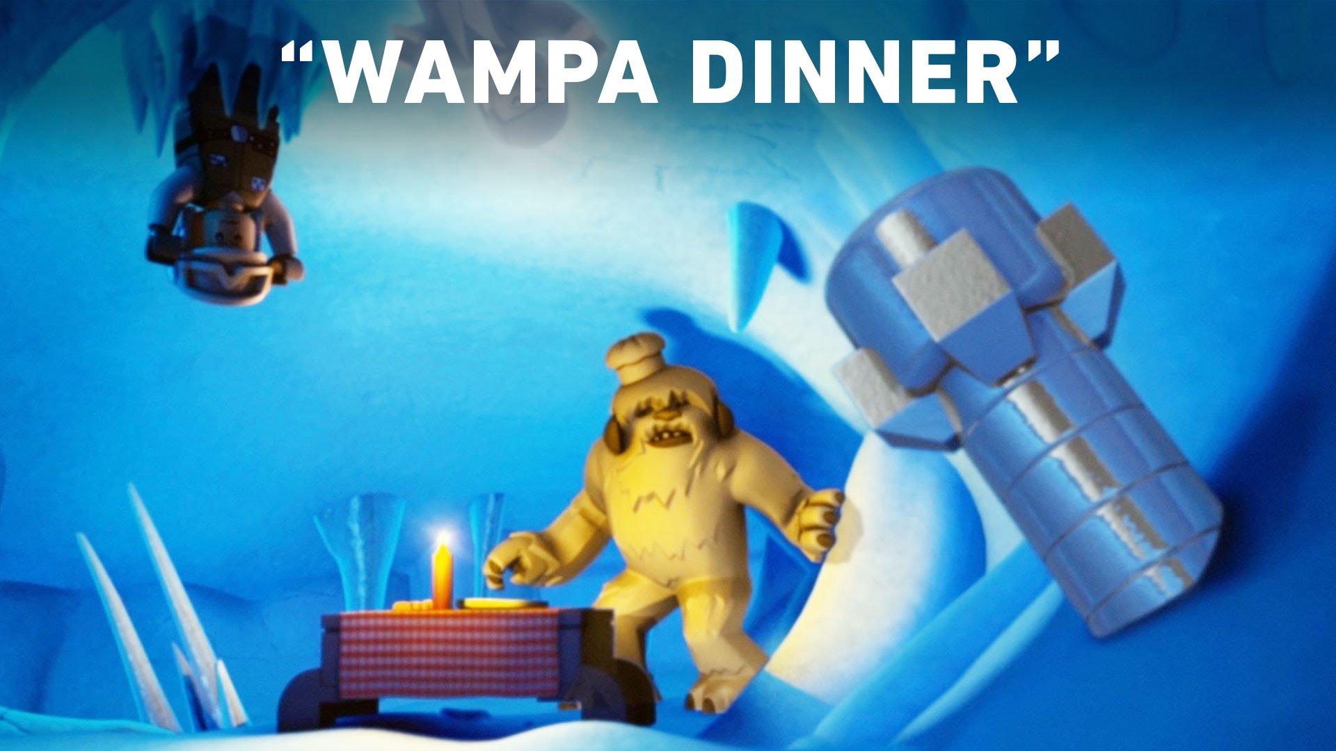 Wampa Dinner – LEGO Star Wars: Droid Tales Clip