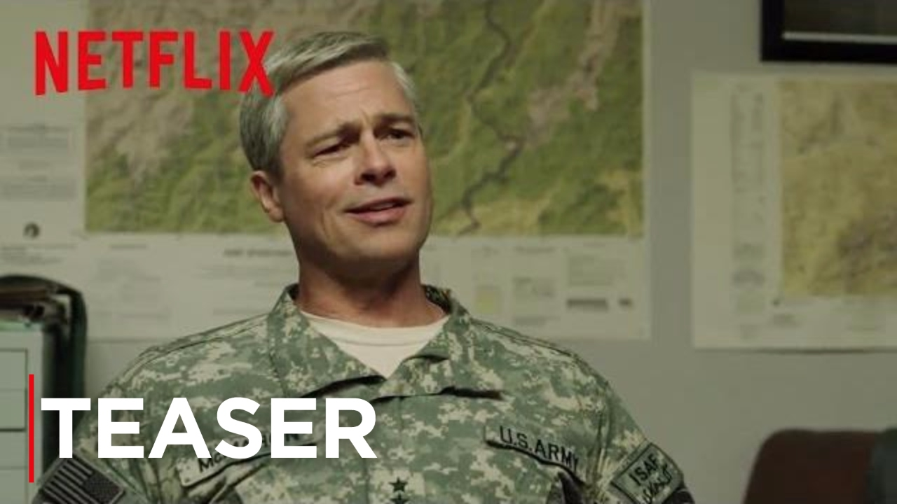 War Machine starring Brad Pitt – A first look teaser