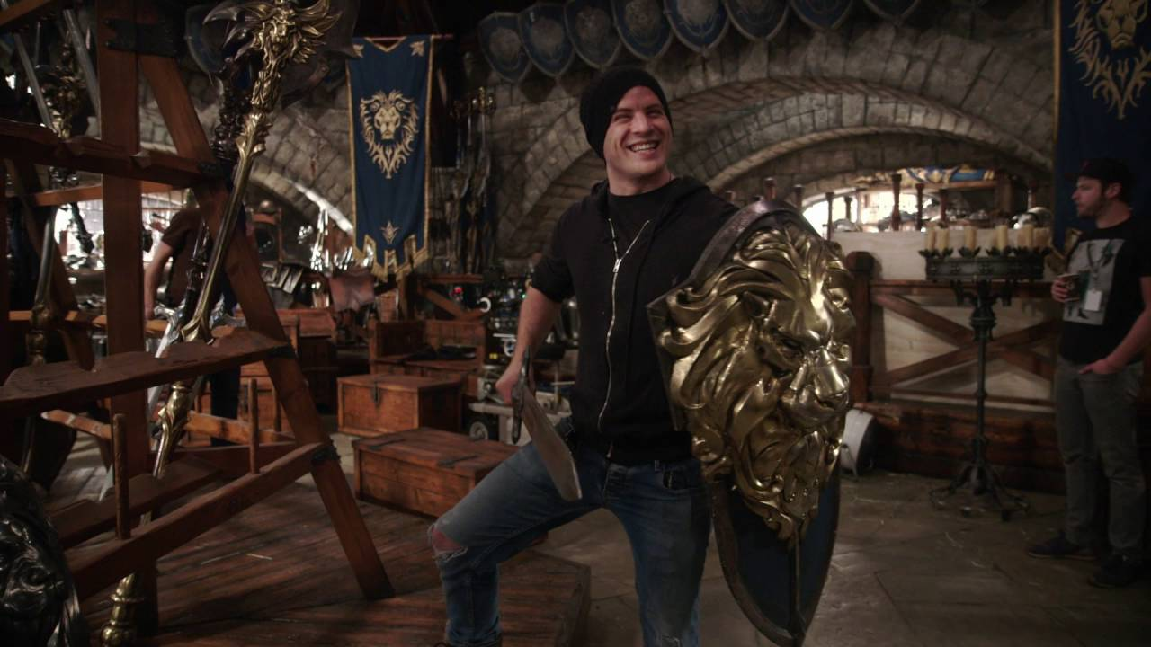 Warcraft: The Beginning –  Rob Tours War Room (Universal Pictures)