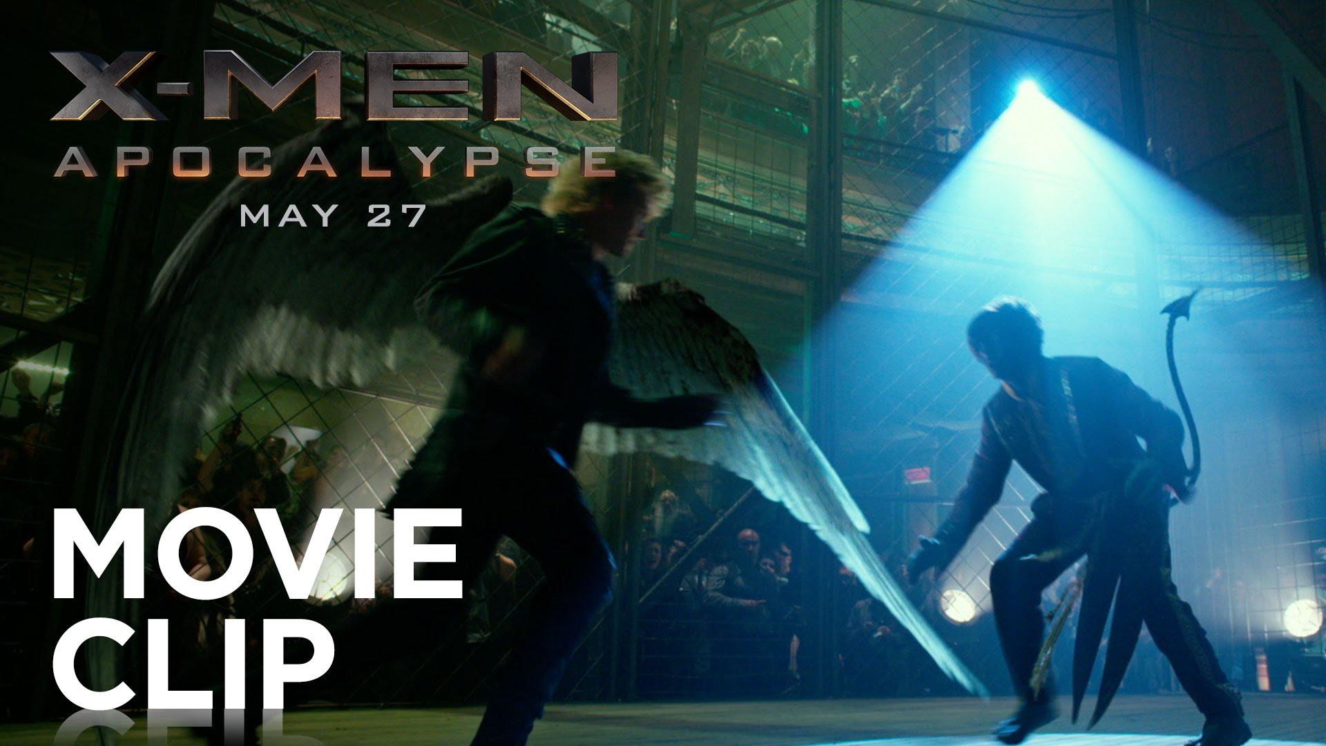 "X-Men: Apocalypse   ""Cage Fight"" Movie Clip [HD]   20th Century FOX"